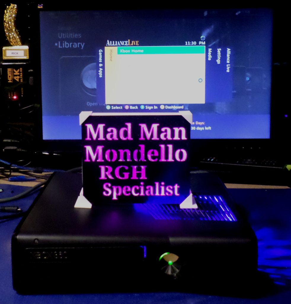 Xbox 360 Slim RGH For Mitchell Brown | By Tony Mondello