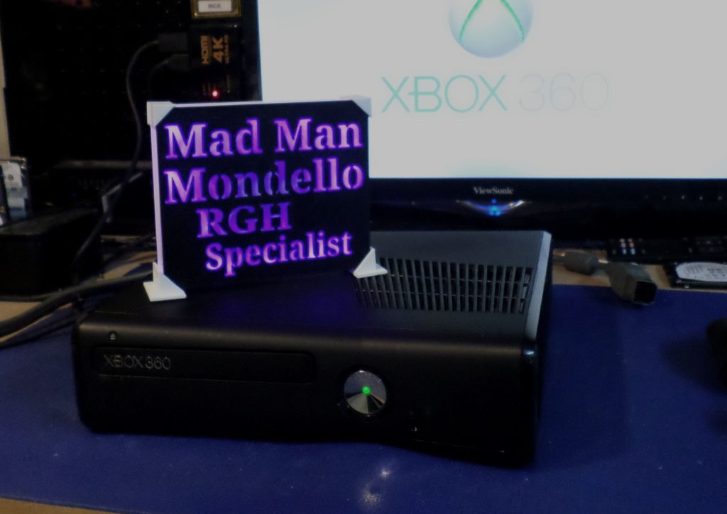 Xbox 360 Slim Rgh for Terrance Chilson | By Tony Mondello