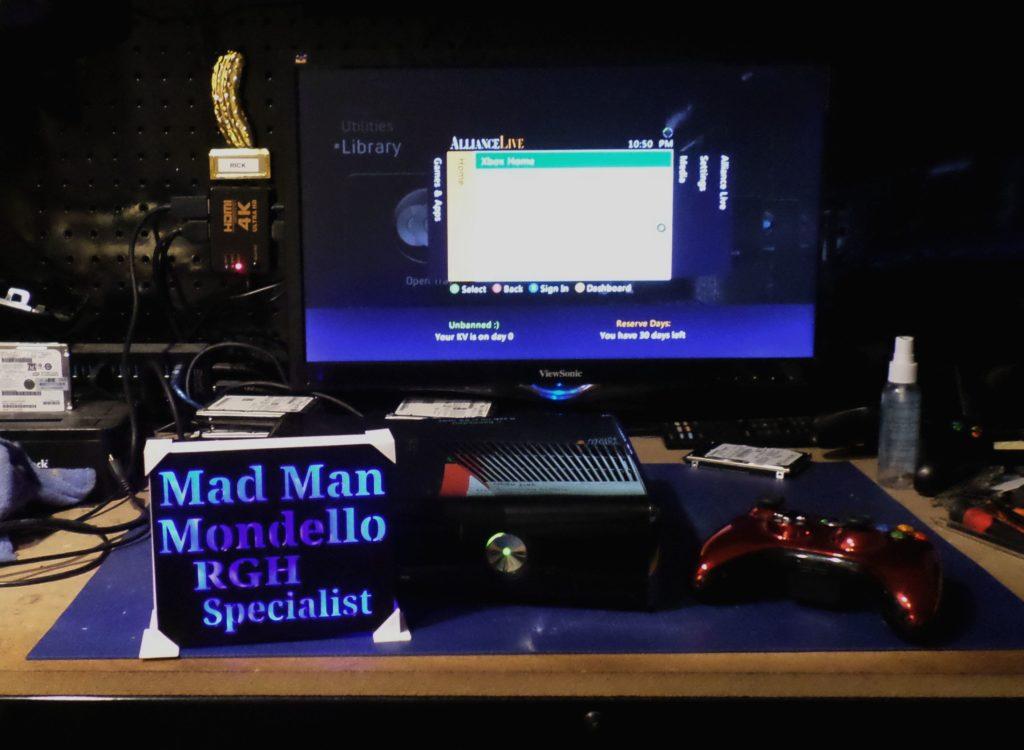 Xbox 360 Slim Rgh For Dylan Dietrick | By Tony Mondello