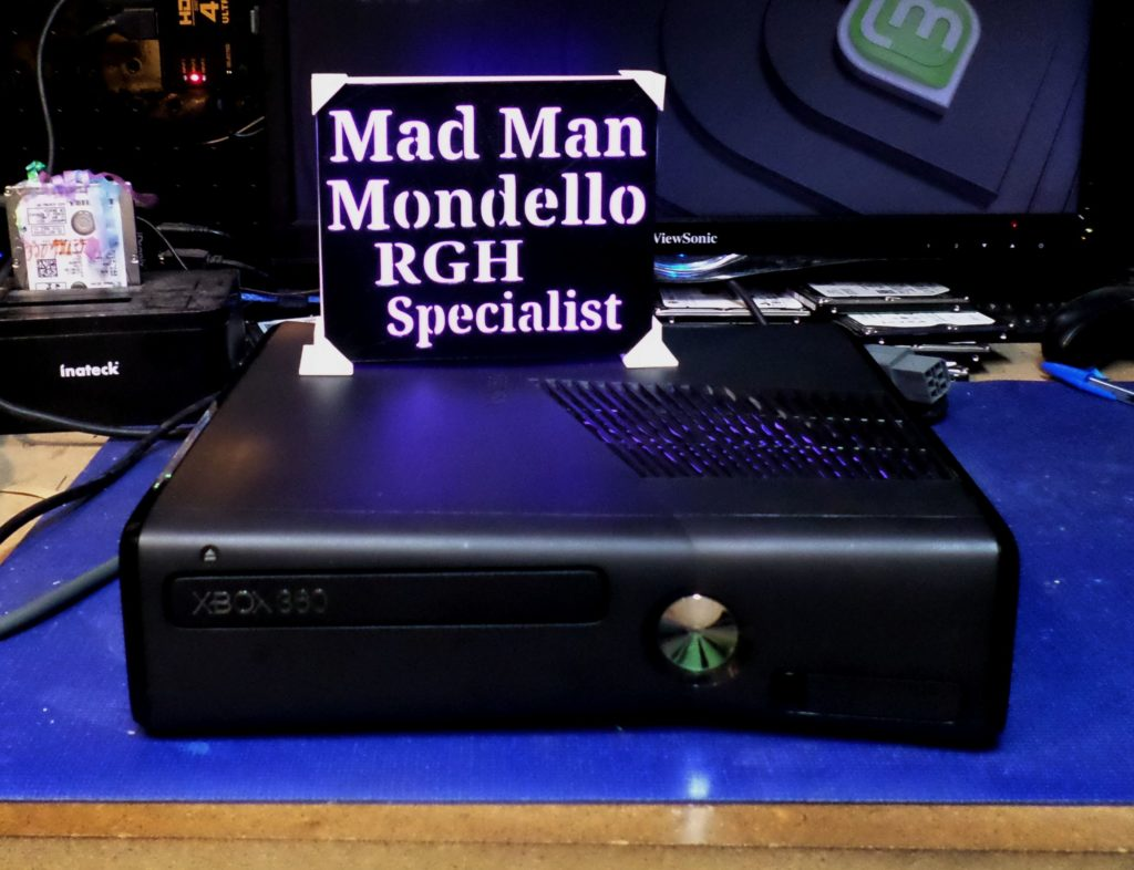 Xbox 360 Slim Rgh for Joshua Perez | By Tony Mondello