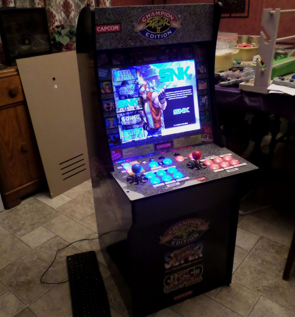 1up COnversion to Raspberry pi Mega Build