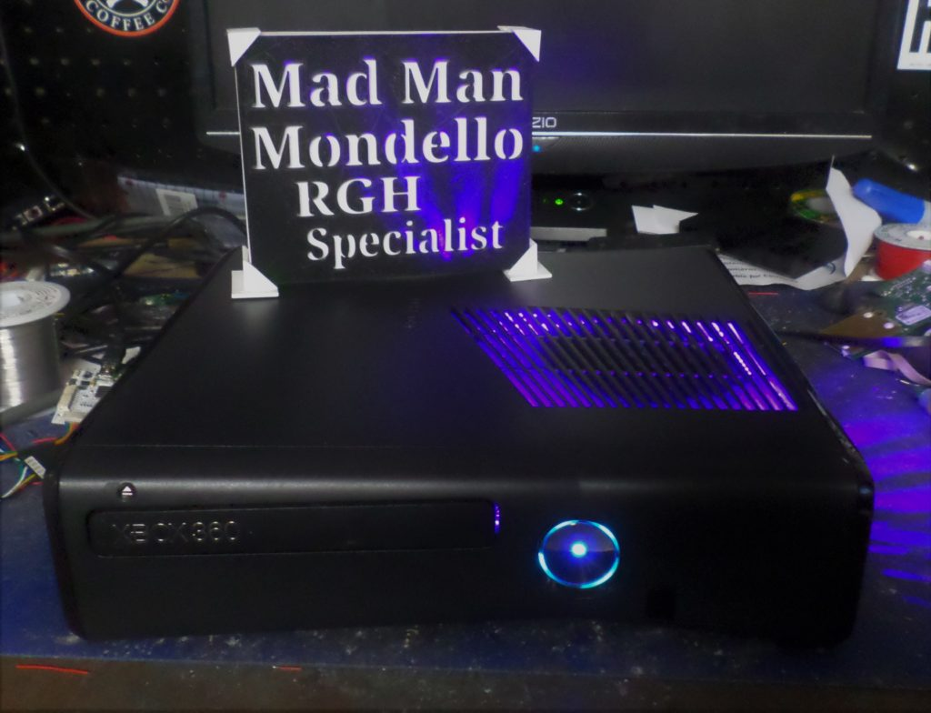 xbox 360 modded console