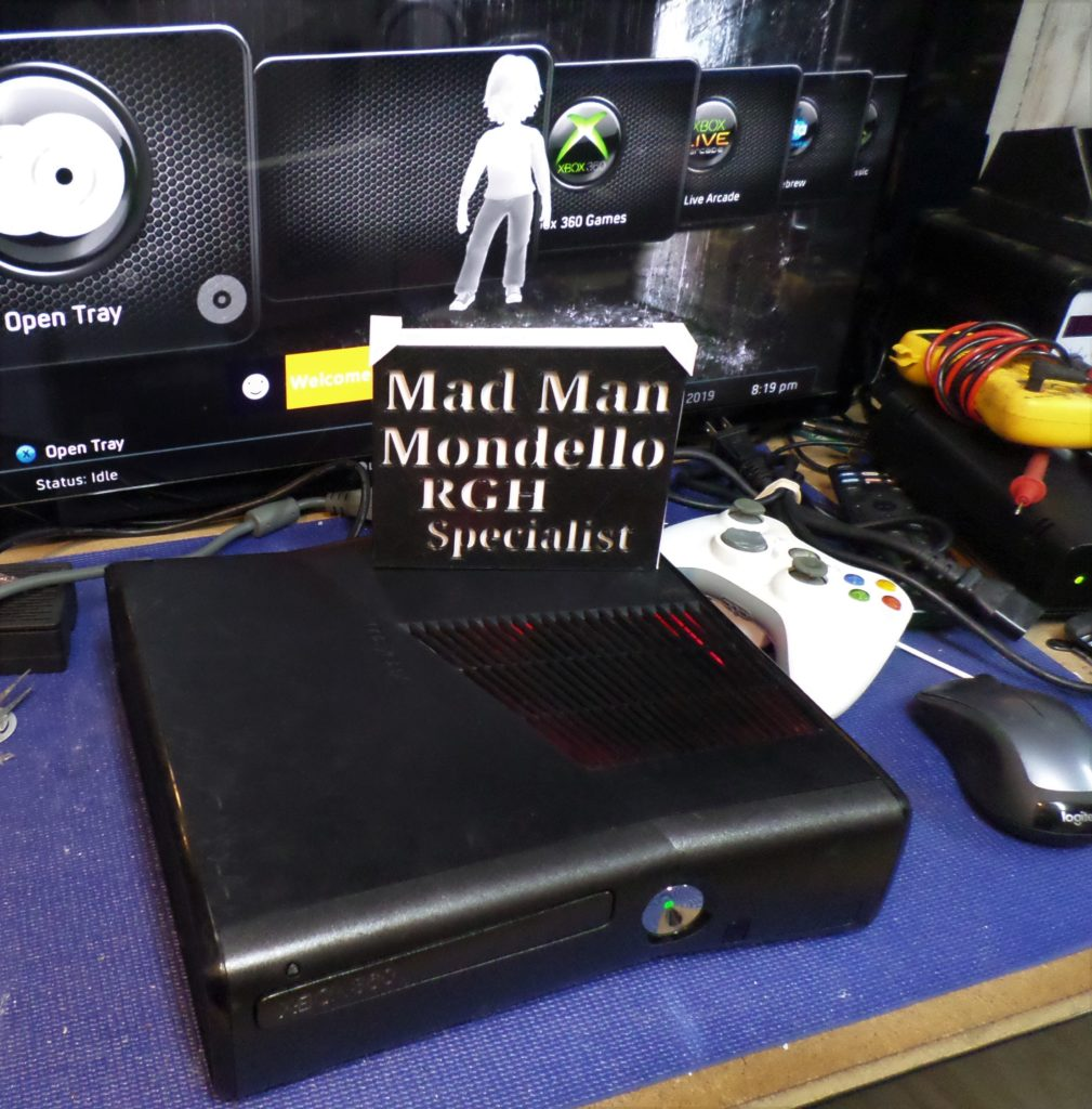 Xbox 360 Rgh Modified console